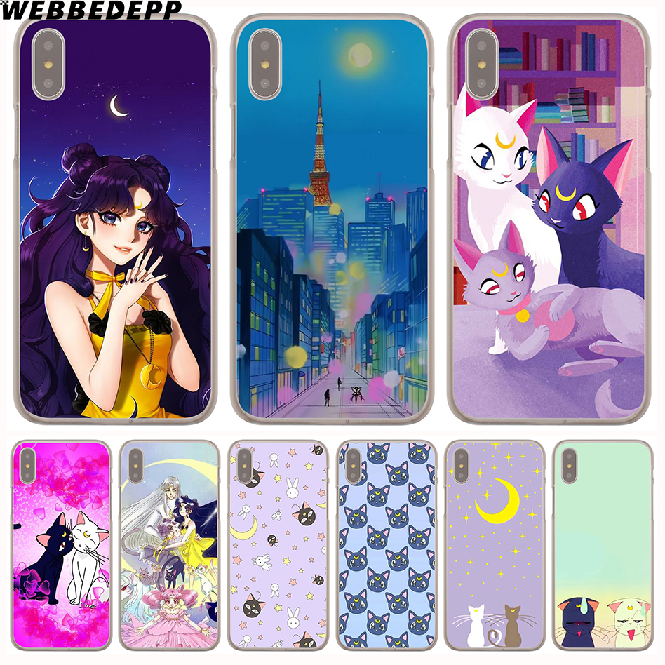 Clever Yinuoda Sailor Moon Beautiful Pink Purple Cat Luna Special Offer Phone Case For Iphone 8 7 6 6s Plus X Xs Max 10 5 5s Se Xr Phone Bags & Cases
