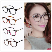 2014 New Reading Glasses Frames Women Students Office Lady Retro Literary Style Decorative Glasses Frames
