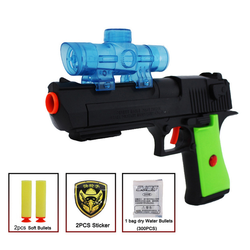 Plastic Toy Gun Paintball Bullet Water Gun Air Soft Pistol Soft Water Bullets Arme Arma Orbeez Toys Sniper Desert Eagle Kid Toy