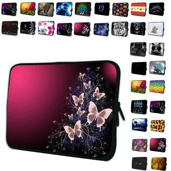 """Neoprene 10 """"10.1"""" 10.2 """"9.7"""" Netbook Tablet Sacchetto Del Manicotto Della Copertura Portatile di Caso Della Protezione Per Chuwi Nexus Samsung iPad 7th Generation"""