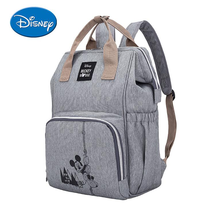 Disney Mummy Maternity Nappy Bag Large Capacity Baby Bag Travel Backpack Nursing Bag Mickey Bags Handbag