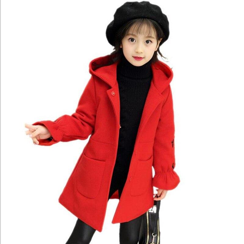 Baby Kids Girls Princess Warm Coat Fleece Jacket Fur Hooded Outwear Overcoat KW