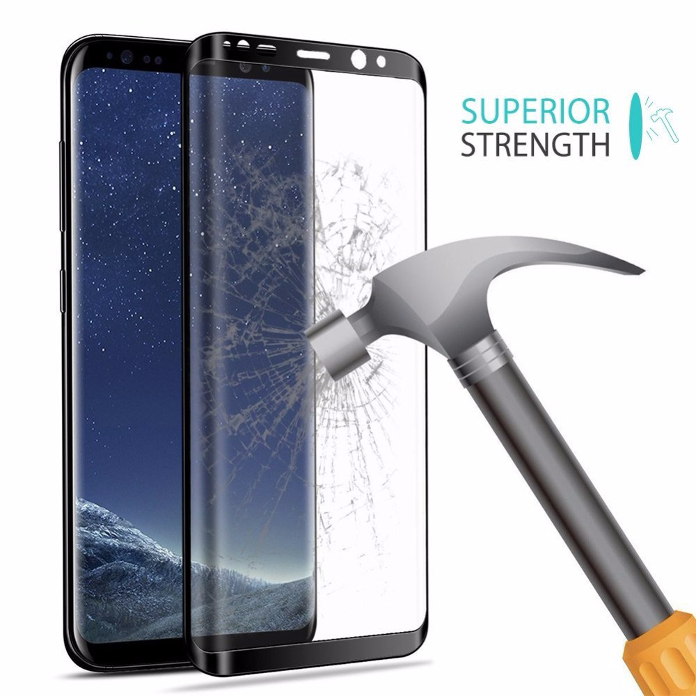 Suntaiho 3D Curved Round Tempred Glass For Samsung Galaxy S9 S9 plus 9H Full Coverage Screen Protector for Galaxy Note 8 Note 9 in Phone Screen Protectors from Cellphones Telecommunications