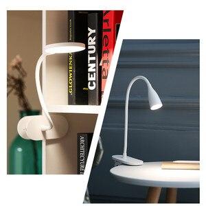 Image 5 - Yeelight שולחן מנורת J1 פרו אור הגנה על העין מנורת שולחן USB אור קליפ מתכוונן LED מנורות נטענת