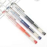 12pcs 0 5mm Bullet Straight Liquid Type Neutral Pen Student And Office Accessories Signature Pen Large