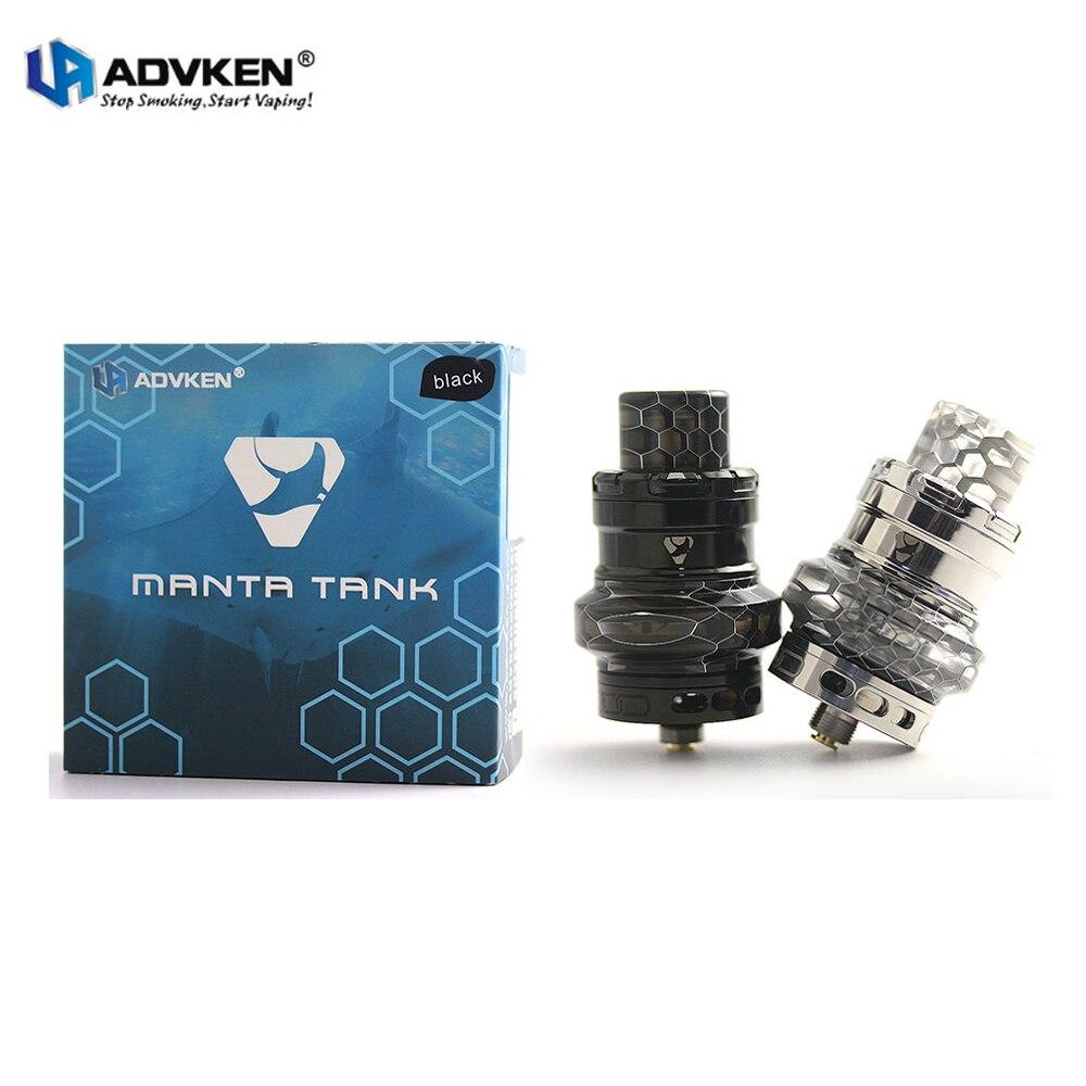Advken Manta Sub Ohm Vape Serbatoio E Sigaretta 24mm 4.5 ml Atomizzatore con la Maglia Bobine Compatibile TFV8 Bambino RTA per Mod Vaporizzatore Kit