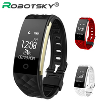 Smart Watch Herat Rate Monitor Pedometer IP67 Waterproof Smartwatch For Android 4 3 iOS 7 0