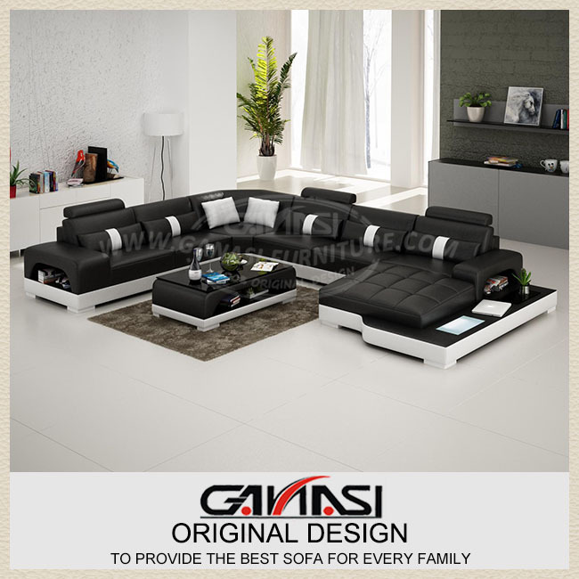 Cheap Genuine Leather Sectional Sofa: Wholesale Sectional Sofas,modern Genuine Leather Sofa,sofa