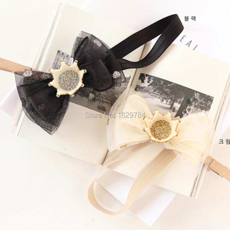 10stk Mode Glitter 3D Gemstone Tiaras Piger Hårbånd Solid Cute - Beklædningstilbehør - Foto 6