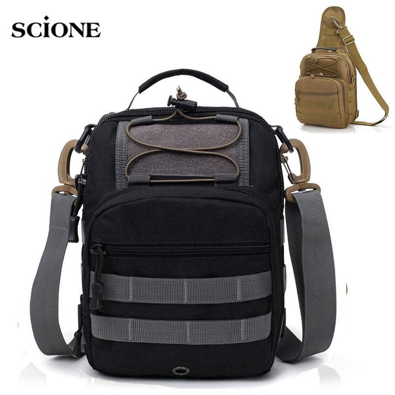 Outdoor Sport Tactical Chest Bag Military Sling Single Shoulder Bag Camping Hiking Backpack Climbing Multi functional XA203WA|hiking bag|outdoor bag|climbing bag - title=