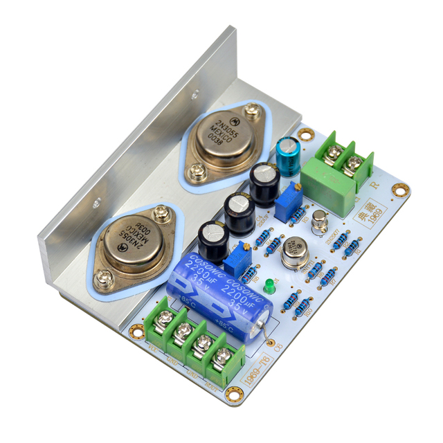 1 pc JLH 1969 classe Uma Placa de amplificador de alta qualidade PCB Montado MOT/2N3055