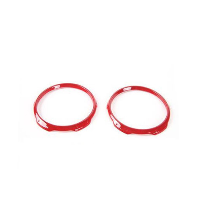 Red Decorative Frame 2pcs Cover ABS Interior <font><b>Accessories</b></font> For <font><b>Jeep</b></font> <font><b>Compass</b></font> 2017 2018 <font><b>2019</b></font> Useful Sale image