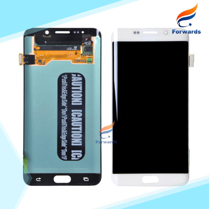 For Samsung Galaxy S6 Edge Plus G928F G928P G928T G928V G928A Lcd Screen Display with Touch Digitizer Assembly 1 piece Free Post