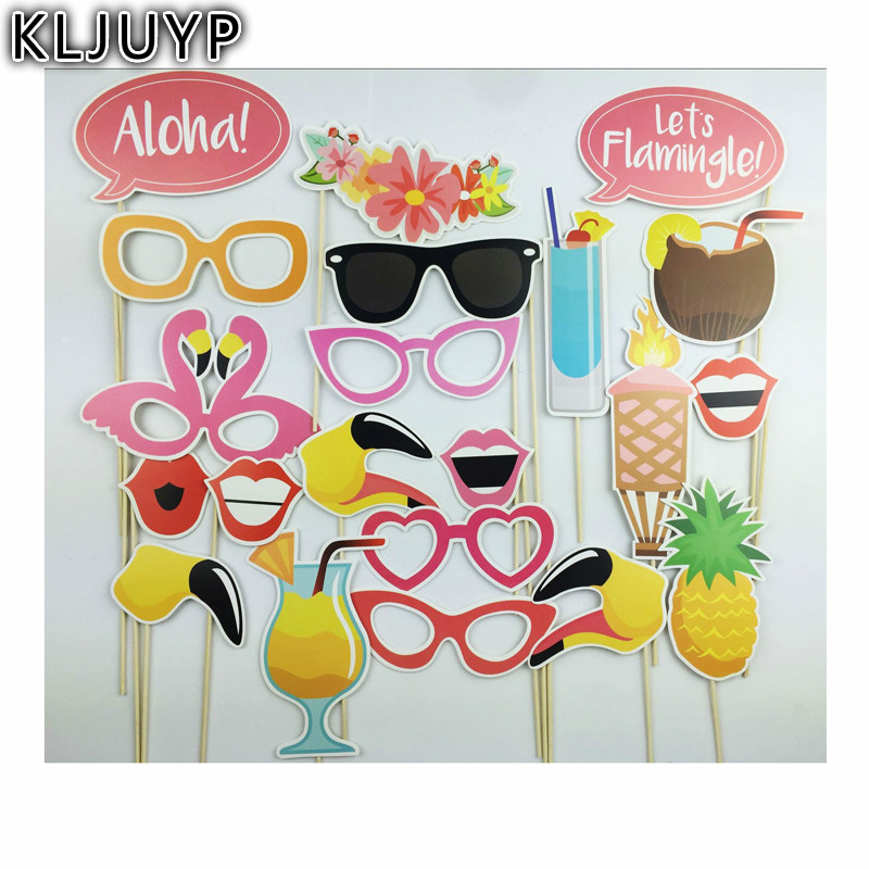Kljuyp Beach Vacation Photo Booth Props Photobooth Wedding Favors
