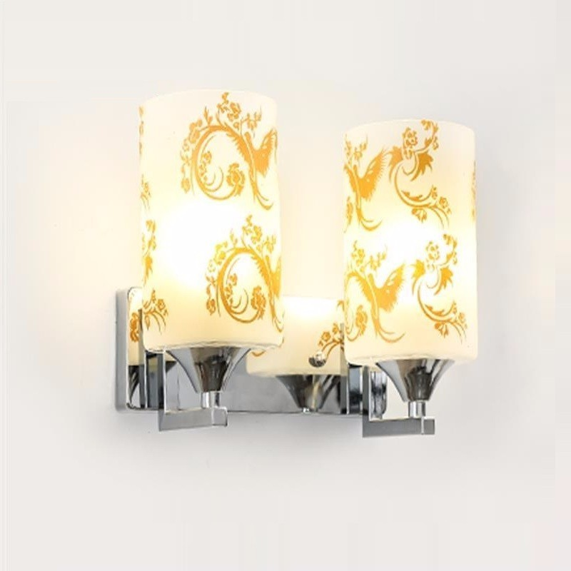 Simple LED wall lamp bedside lamp bedroom creative living room stairs aisle lights hotel lamps