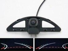 Trajectory Tracks Fisheye Lens Car Rear view Camera For Honda Ballade 2011~2015 City 5 Generation GM2 GM3 2007~2013