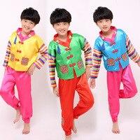 Boy Korean Traditional Costumes Children Hanbok Clothing ethnicminority costumes performance costumes children's dance costumes