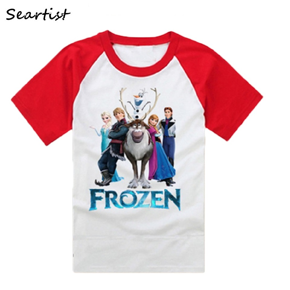 Seartist Boys Girls T Shirt Baby Summer T-Shirt Baby Boy Girl Clothes Shorts Tops Cartoon Tshirt Bebe Baby Boy Clothes 2019 New