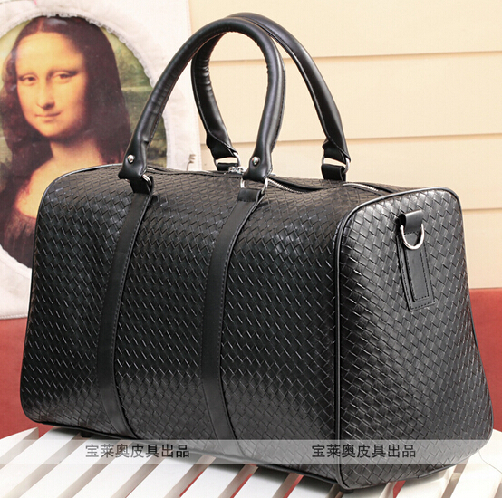 Us 37 49 New Mens Pu Leather Travel Bag Fashion Women Luggage Bags Vintage Overnight Traveling Weekender Tb00014 In