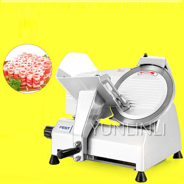 mutton roll slicer commercial meat planer 10 inch semi automatic