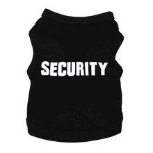 Футболки с принтом безопасности, Одежда для питомцев, одежда для щенков, футболки, одежда из полиэстера, майки, топы для всех сезонов, горячая Распродажа