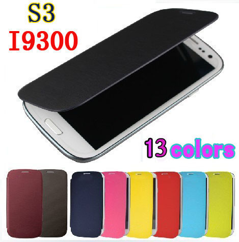 Flip Leather Back Cover Original Battery Housing Case Protector Holster Shell Samsung Galaxy S3 I9300 Neo I9300i Duos  -  Shenzhen Ren Trade Co., Ltd. store