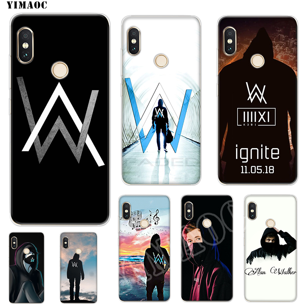 Half-wrapped Case Cellphones & Telecommunications Provided Soft Case Covers Alan Walker Lovely Novelty Fundas For Xiaomi Redmi Note 6a Mi8 Pro S2 A2 Lite Se Mix 1 Max 2 3 For Oneplus 3 6t
