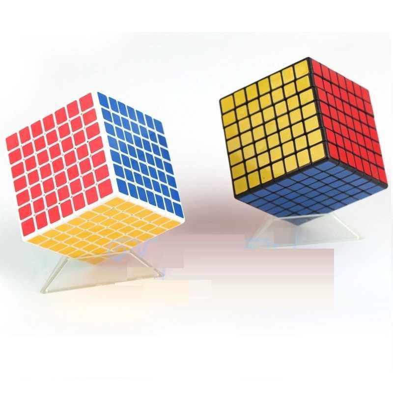 ShengShou 7x7 Puzzel Kubus Professionele PVC & Matte Stickers Cubo Magico Puzzel Speed Klassieke Speelgoed Leren & Onderwijs speelgoed