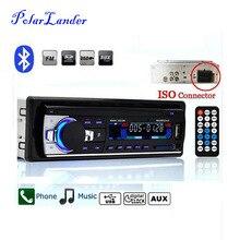 Новый 12 В Car Audio FM автомобиля Радио Bluetooth MP3 аудио плеер Bluetooth телефона Handfree USB/SD MMC Порты и разъёмы автомобиль радио в тире Один DIN