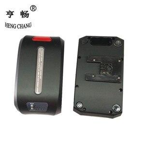 Image 1 - Чехол для аккумулятора 36 В, складной чехол для велосипеда с литиевым аккумулятором haibao, чехол для аккумулятора с дисплеем питания, задний светильник