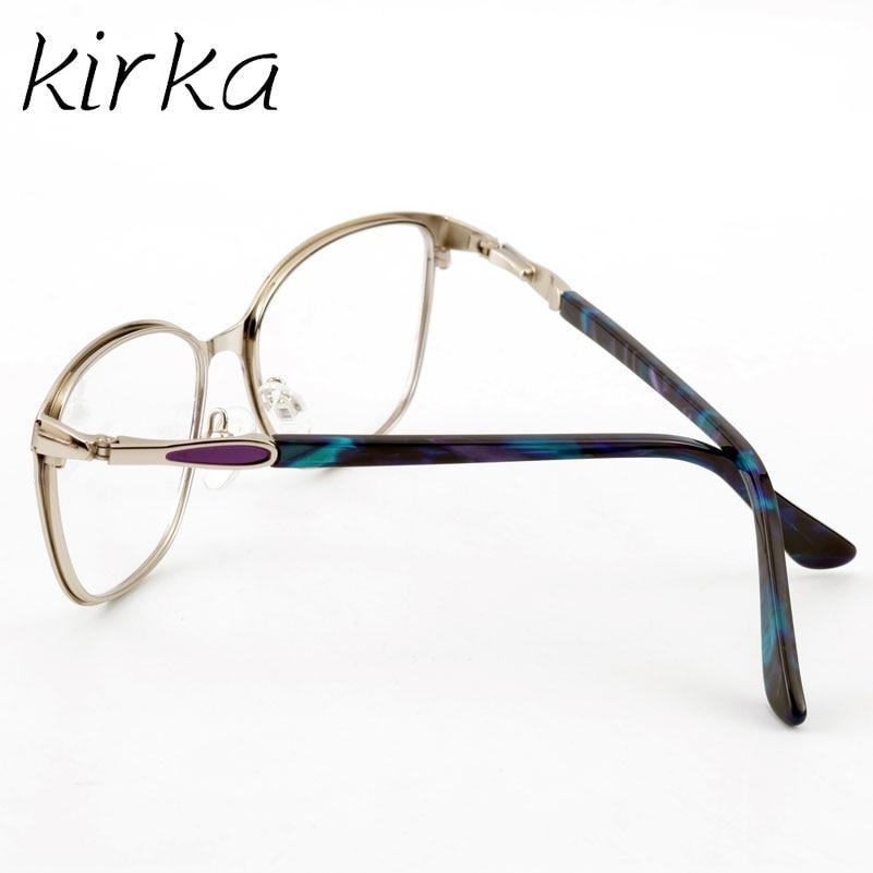 Kirka Retro Οπτικό Clear Lens Μεταλλικά Γυαλιά - Αξεσουάρ ένδυσης - Φωτογραφία 6