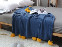 YOOSA European Thread Throw Blanket Sofa Decorative Slipcover Cobertor on Sofa Beds Plane Travel Solid Non-slip Stitching Blanke yoosa белый