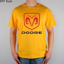 DODGE T-shirt cotton Lycra top Fashion Brand t shirt men