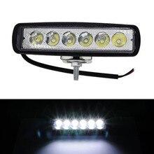 18 Вт 6 светодиодный свет работы бар дальнего света туман от высокой Яркость внедорожник автомобиль грузовик M8617