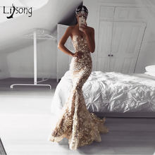 Уникальное кружевное платье Русалочки Элегантные Длинные Формальные