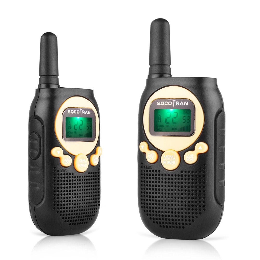 Image 4 - top gift walkie talkies for kids SC R40 child walkie talkie two way radio 0.5W  VOX with privacy code & rechargeable battery-in Walkie Talkie from Cellphones & Telecommunications