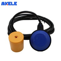 MK CFS04 Cable Float Level Sensor Switch 3 meter yellow color float PVC cable Water Level Controller Square Shape