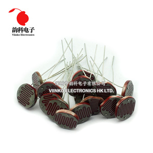 Image 3 - 100pcs 12528 Light Dependent Resistor LDR 12MM Photoresistor Photosensitive GL12528 Photoconductive resistance