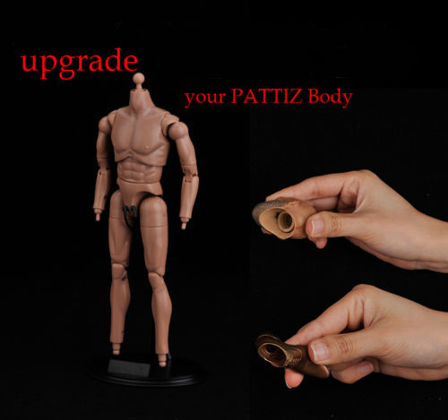 """1//6 Head Feet Connetor Body Part for 12/"""" Hot Toys Dragon Action Figure Accessory"""
