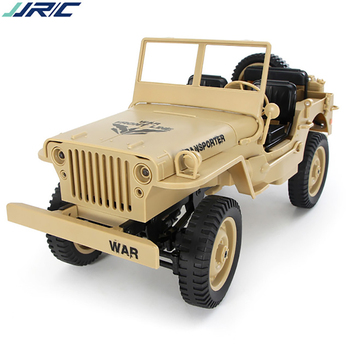 Original JJRC Q65 1:10 remote control car 2.4G four-wheel drive remote control analog lamp Jeep with driving lights