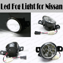 2016 car accessories Auto fog light for Nissan for Livina for Qashqai for TEANA for NEW SYLPHY DC12-24V led front fog light lamp
