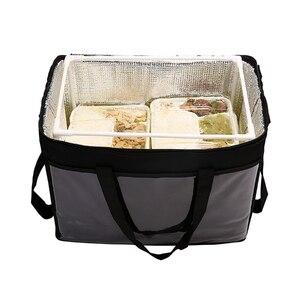 Image 4 - 45L 大熱食品クーラーバッグ断熱大容量多機能ランチボックスボルサ termica クーラーバッグ picknick クール