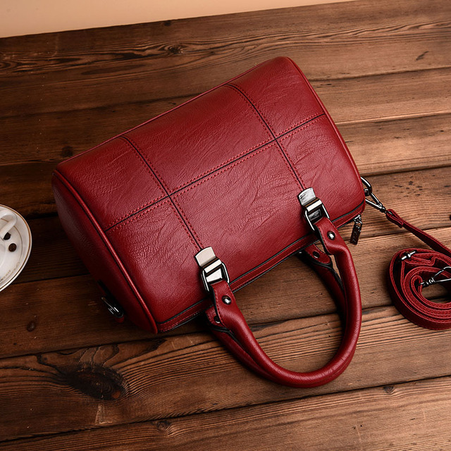 Chu JJ Women s Genuine Leather Handbags Fashion Luxury Ladies Shoulder  CrossBody Bag Messenger Bags Big Size Women Bags Tote Bag 6451006afbfb1