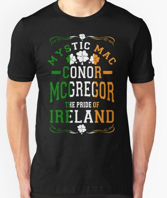 2016 Men Brand New Conor Mcgregor printed t shirt fashion short-sleeve 100% cotton T shirt casual t-shirt for men