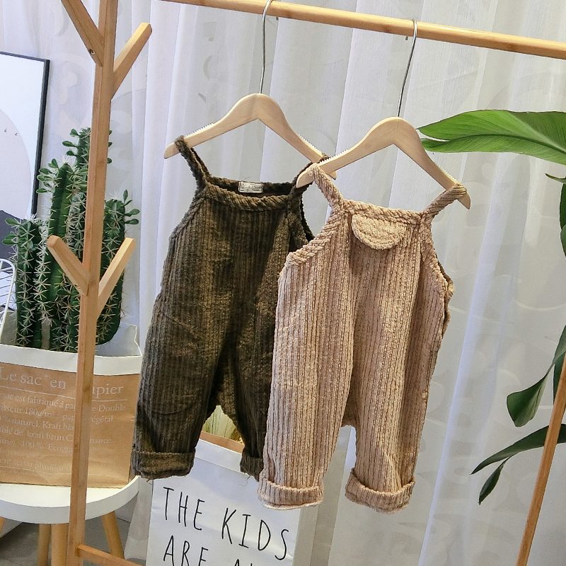 41822c5891b Detail Feedback Questions about Girl Overalls Fashion Korean Baby Toddler  Boys Corduroy Children Rompers Fashion Children Clothings on Aliexpress.com  ...