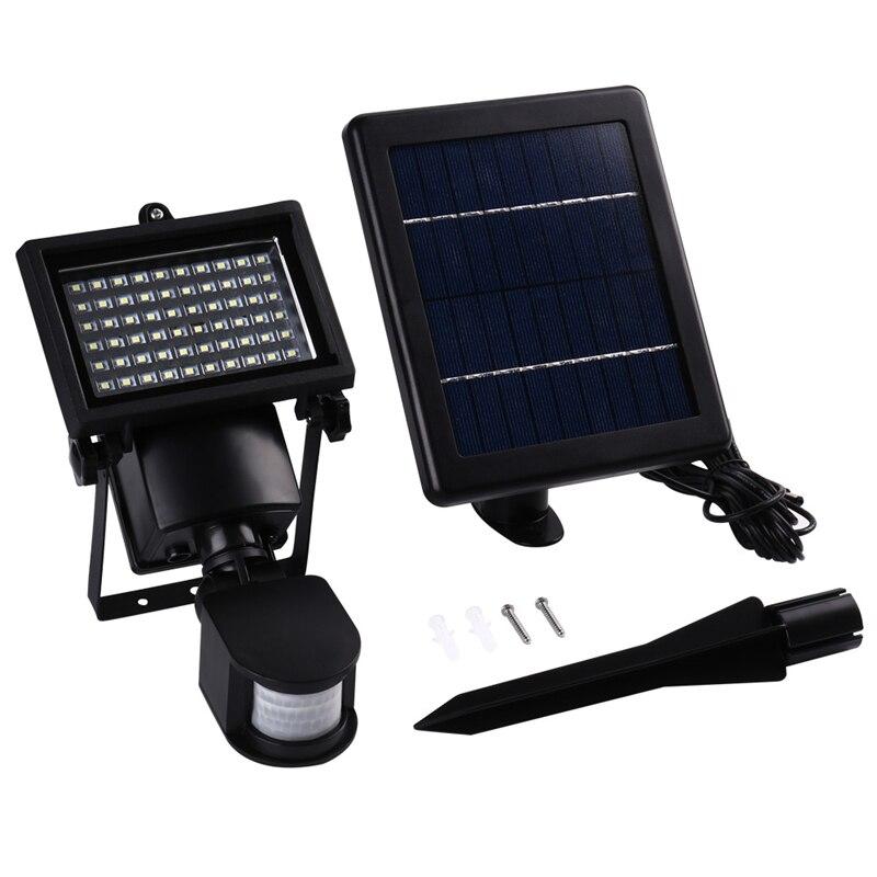 Binval LED Solar Lamp 60 LED Solar lamp Motion Sensor Security Garden Outdoor Wall Street Light Spot Lighting Solar Lighting