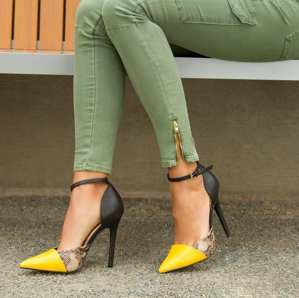 Cheap Yellow Heels Promotion-Shop for Promotional Cheap Yellow ...