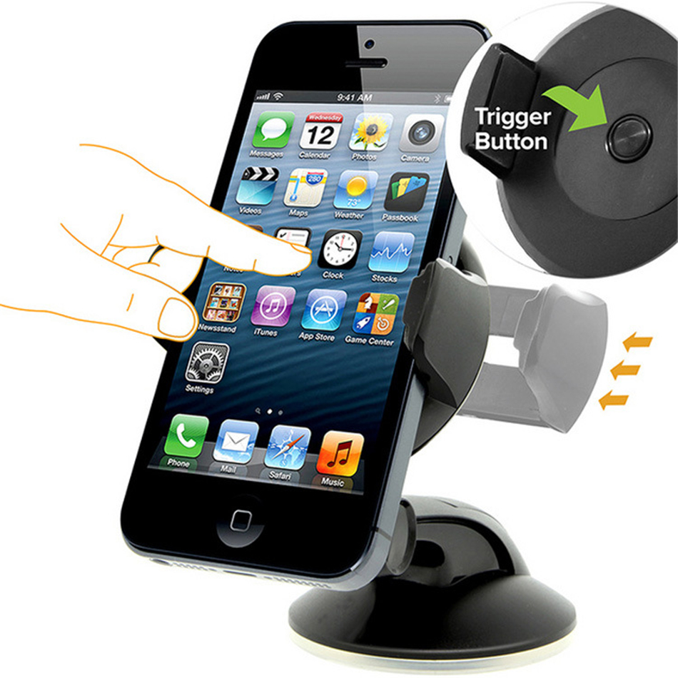 Image 4 - Suporte Porta Celular For Samsung iPhone Huawei Telefon Cell Soporte Movil Auto Mobile Phone Stand Car Holder Smartphone Voiture-in Phone Holders & Stands from Cellphones & Telecommunications