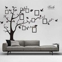 3D DIY ภาพต้นไม้ PVC กำแพงสติกเกอร์ตกแต่งบ้าน Decals กาวสติกเกอร์วอลล์เปเปอร์สติ๊กเกอร์ภาพจิตรกรรมฝาผนัง Art Home Decor