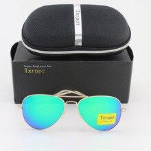 купить Free Shipping  Men's Women's Designer Txrppr Sunglasses Gold Frame Green Colorful 62mm Eyewear Come with Box And Case  по цене 789.11 рублей